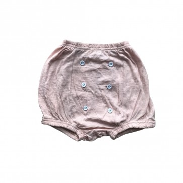 lumik-Lumik Peach Plain Button Short-