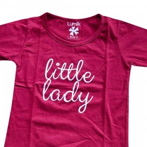 lumik-Lumik Red Little Lady Tee Special Store-
