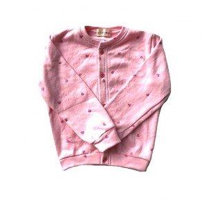lumik-Pink Love Cardigan-