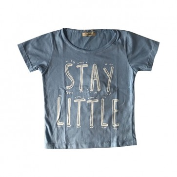 lumik-Stay Little Blue Tee Special Store-