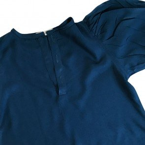 lumik-Lumik Navy Plain Boba Blouse-