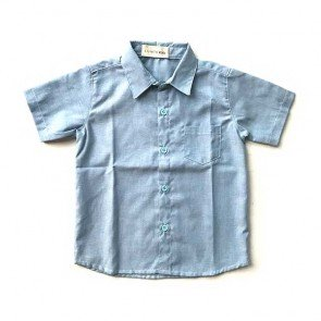 lumik-Baby Blue Baby Shirt-
