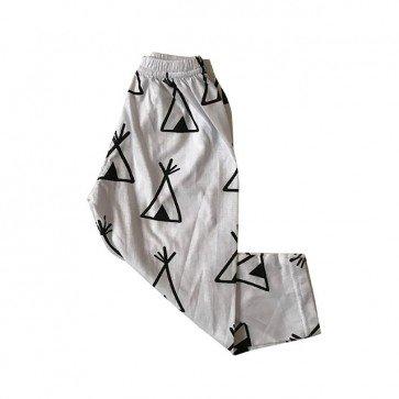 lumik-White Tent Legging-
