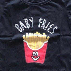 lumik-Lumik Black Fries Tee Special Store-