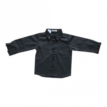 lumik-Lumik Dark Grey Longsleeve Shirt-