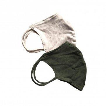 lumik-Lumik Beige & Army Masker-