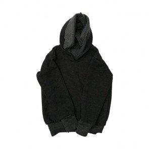 lumik-Dark Grey Sweater Hoodie-