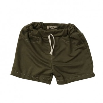 lumik-Green Army Short-