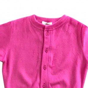 lumik-Lumik Pink Plain Cardigan-