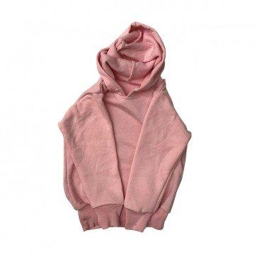 lumik-Dusty Pink Sweater Hoodie-
