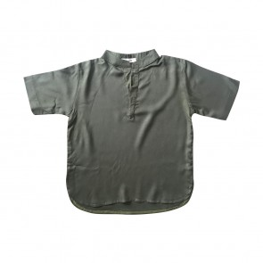 lumik-Lumik Army Green Plain Koko Short Sleeve-