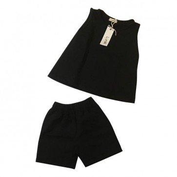 lumik-Black Baju Set-