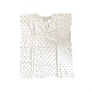 lumik-White Dot Kaftan-