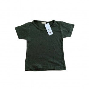 lumik-Green Army Tee-