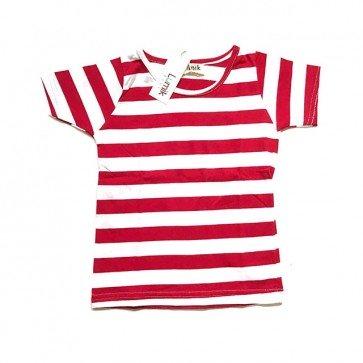 lumik-Red Stripe-