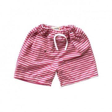 lumik-Pink Stripes Short-