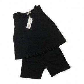 lumik-Navy Baju Set-