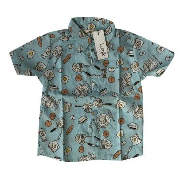 lumik-Little Breakfast Baby Shirt-