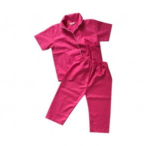 lumik-Lumik Pajamas Pink Plain-