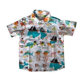 lumik-White Sea Baby Shirt-