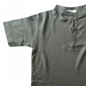 lumik-Lumik Army Green Plain Koko Short Sleeve-