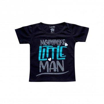 lumik-Lumik Black Mommy's Little Man Tee Special Store-