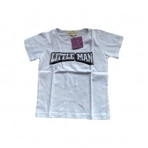 lumik-Little Man White Tee Special Store-