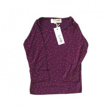 lumik-Purple Polka Long Sleeves-