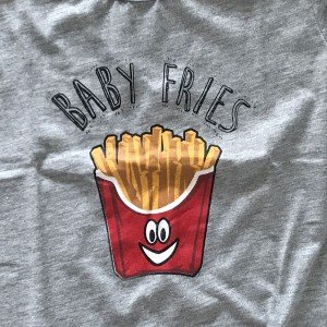 lumik-Lumik Grey Fries Tee Special Store-