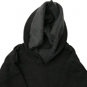 lumik-Dark Grey Sweater Hoodie-