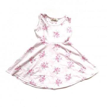 lumik-Pink Flowery Play Dress-