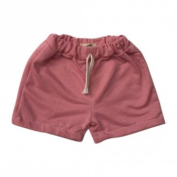 lumik-Lumik Dusty Pink Plain Short-