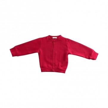 lumik-Lumik Red Plain Cardigan-