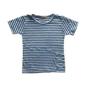 lumik-Blue Stripes Tee-