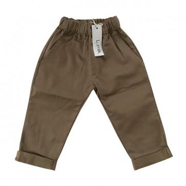 lumik-Medium Brown Chino-