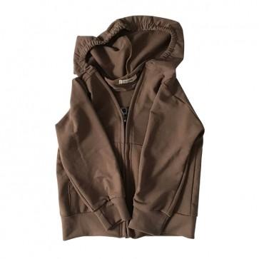 lumik-Brown Hoodie-