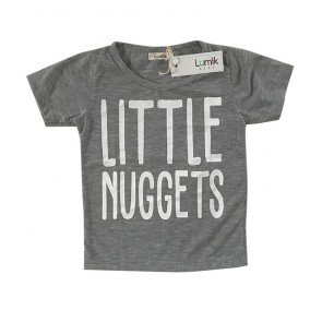 lumik-Little Nuggets Grey Tee Special Store-
