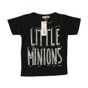 lumik-Little Minion Black Tee Special Store-