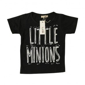 lumik-Little Minion Black Tee Special Store-