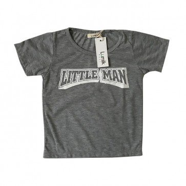 lumik-Little Man Grey Tee Special Store-