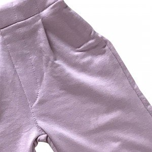 lumik-Lumik Dusty Pink Plain Kulot Pants-