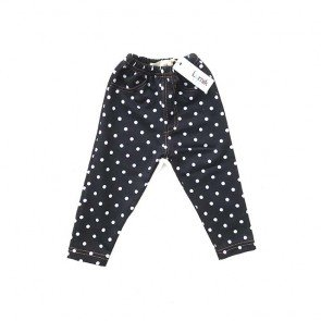 lumik-Polka Black Jegging-