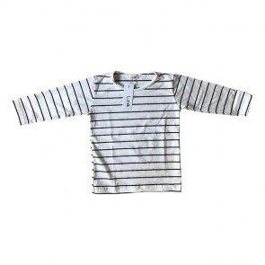 lumik-White Stripes Long Sleeves-