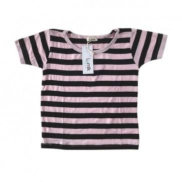 lumik-Blue White Stripes Tee-