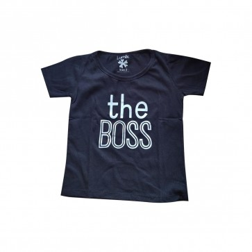 lumik-Lumik Black The Boss Tee Special Store-