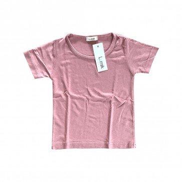 lumik-Lumik Baby Pink Plain Tee-