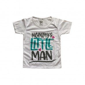lumik-Lumik White Mommy's Little Man Tee Special Store-