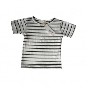 lumik-Lumik Big White Stripes Tee-