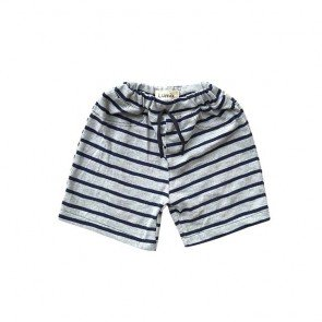 lumik-Navy Grey Short-