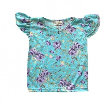 lumik-Simply Baby Flowery Blue-